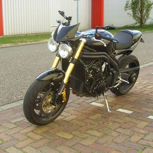 Flyscreen Triump Speed triple 1050 kuip S3