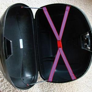 Kapp koffer binnenzijde